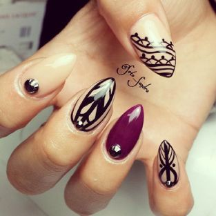 stiletto nail febacci 2